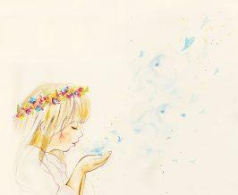 静岡Wedding裏表紙イラスト