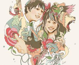 ウェルカムボード『Yuma&Yuri』