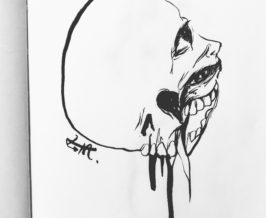 筆ペン『欲望』
