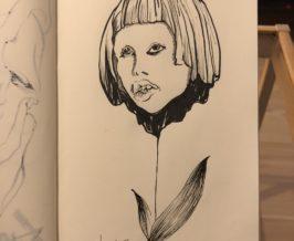 筆ペン『花子』